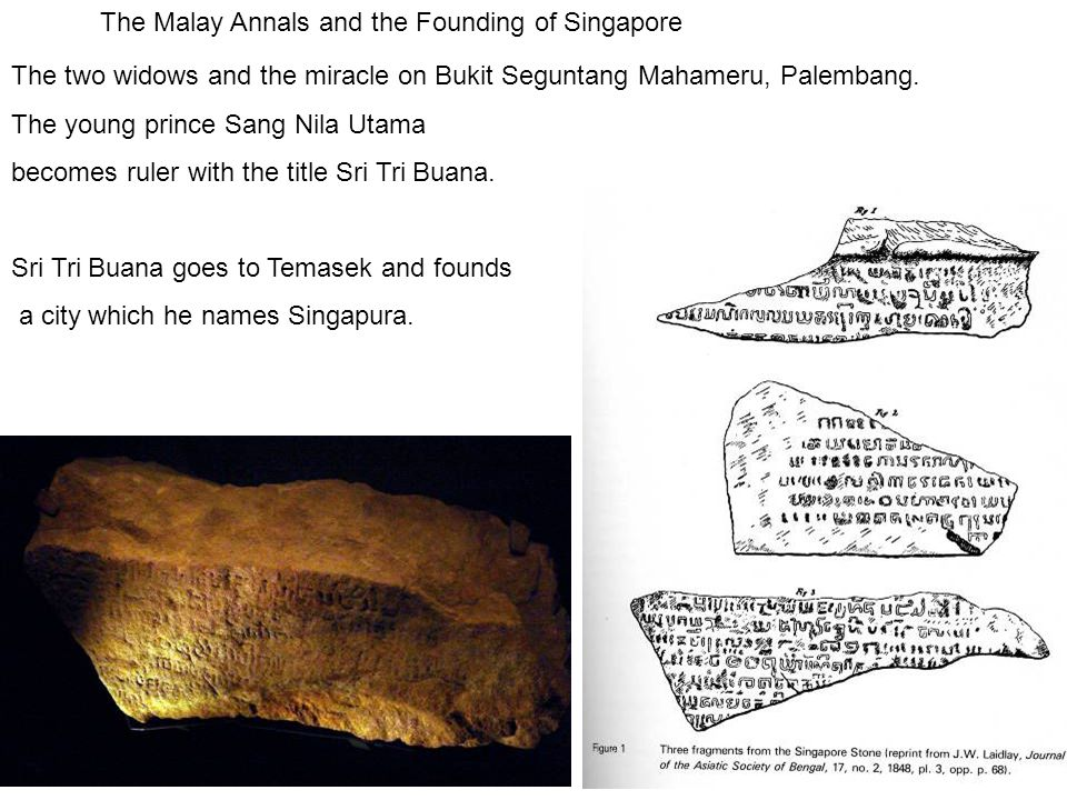 The Malay Annals and the Founding of Singapore
