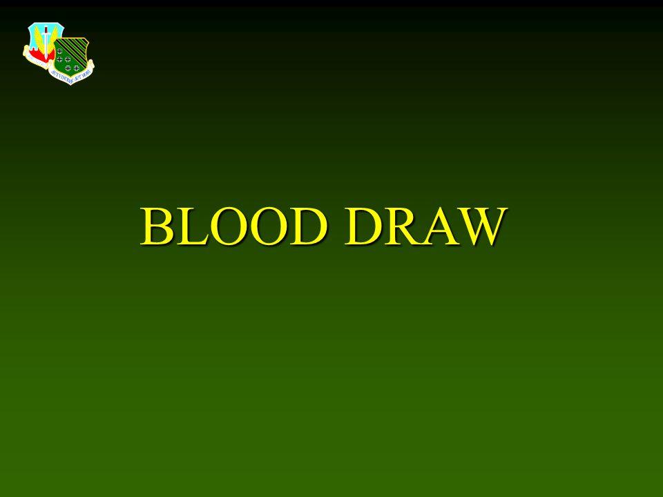 BLOOD DRAW