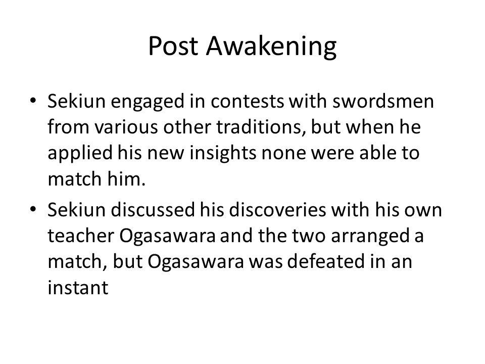 Post Awakening