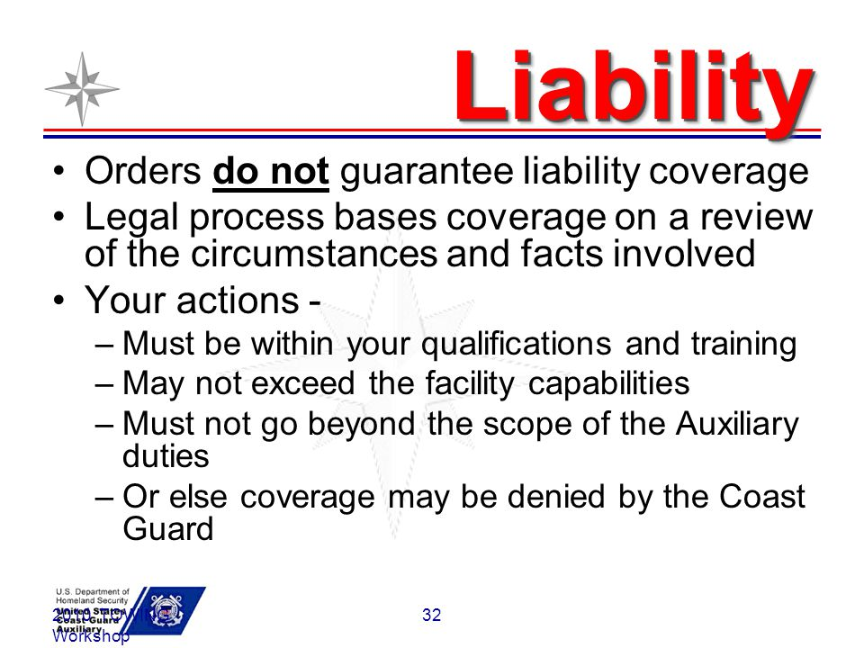 Liability Orders do not guarantee liability coverage