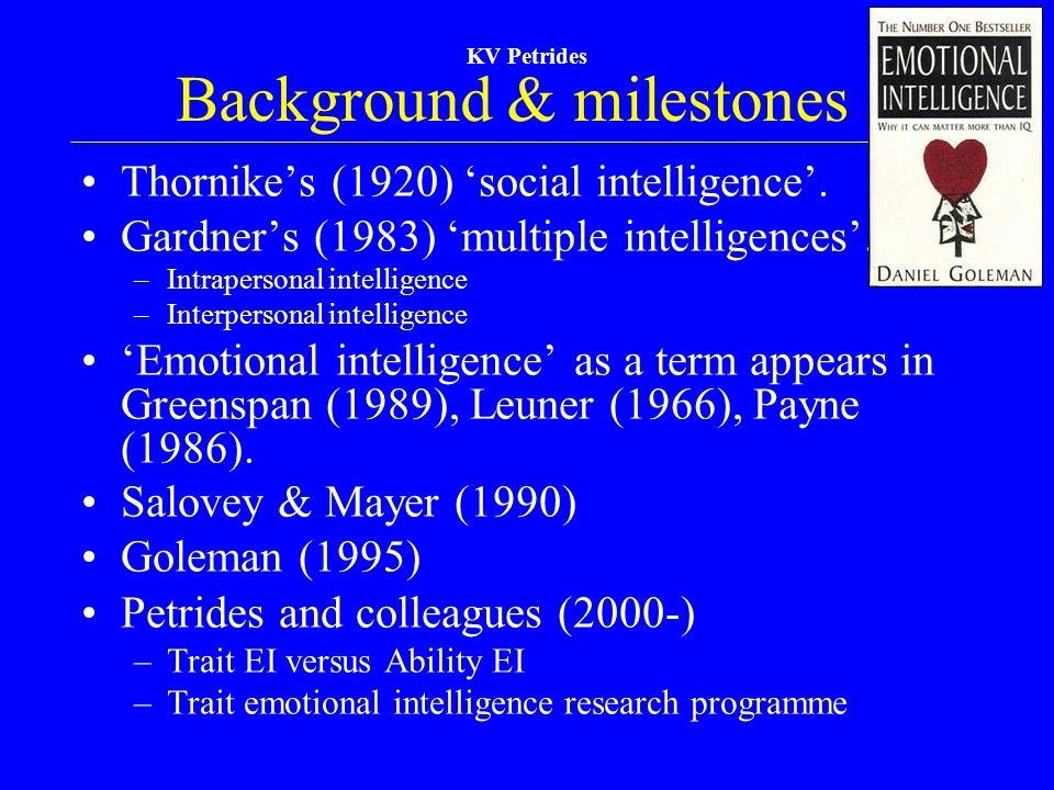 Background & milestones