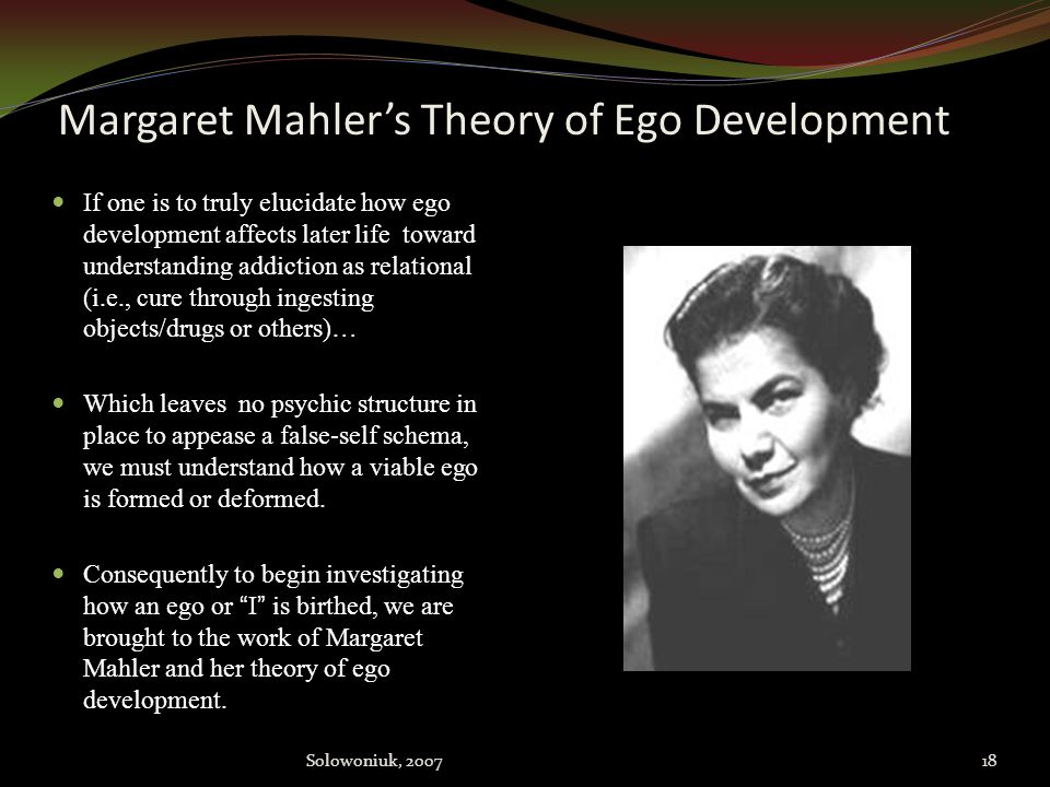 Margaret Mahler's Theory of Ego Development
