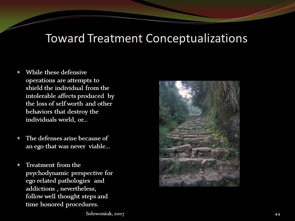 Toward Treatment Conceptualizations