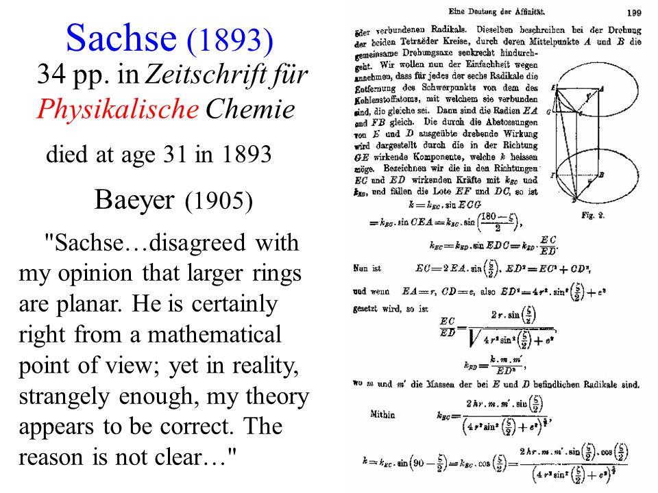 Sachse (1893) 34 pp. in Zeitschrift für Physikalische Chemie