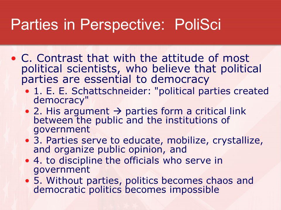 Parties in Perspective: PoliSci