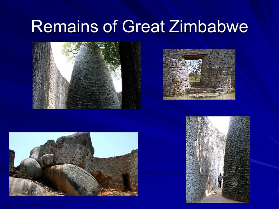 Remains of Great Zimbabwe
