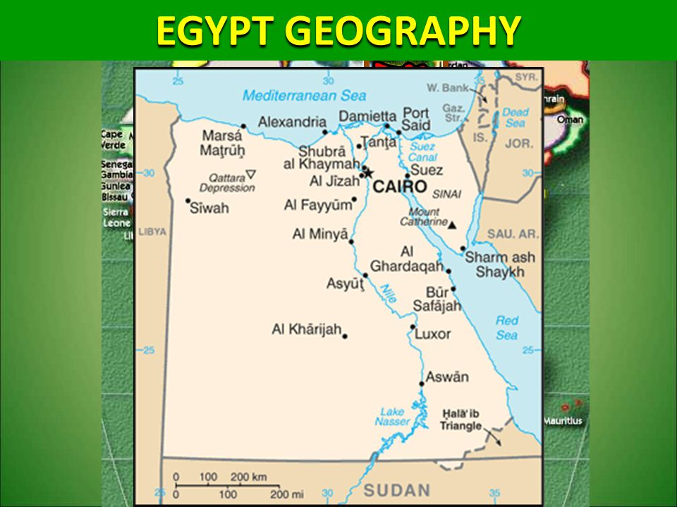 EGYPT GEOGRAPHY EGYPT