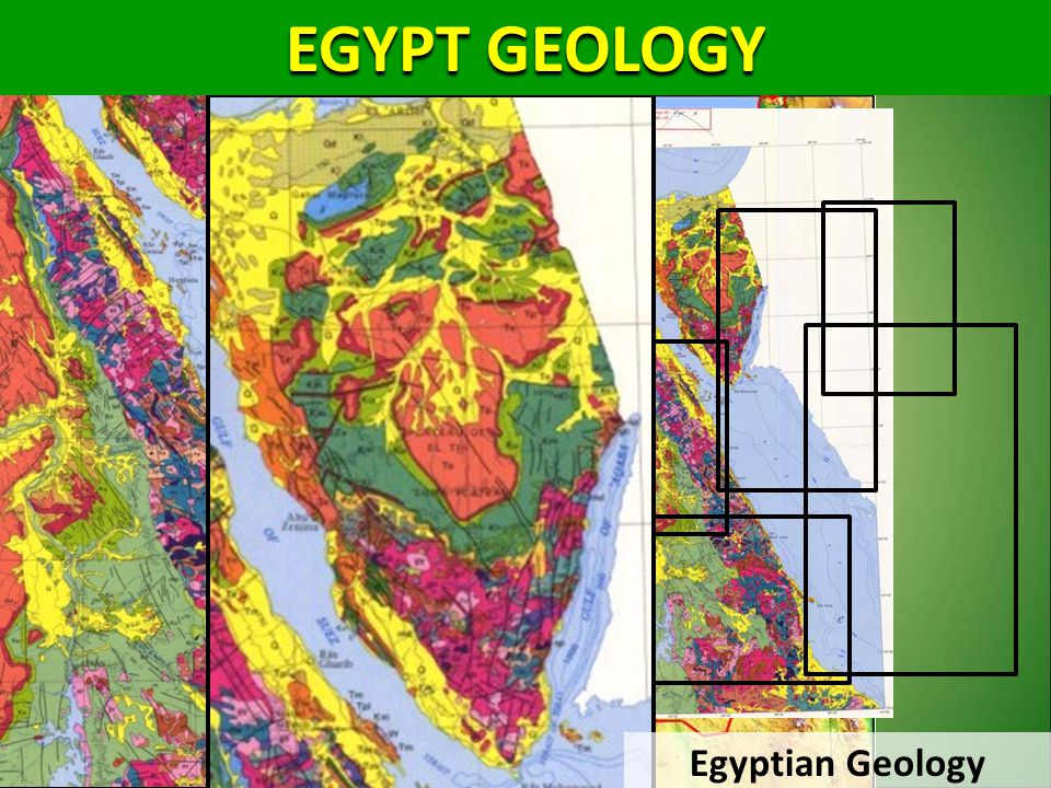 EGYPT GEOLOGY 5000 3000 1500 Egyptian Geology