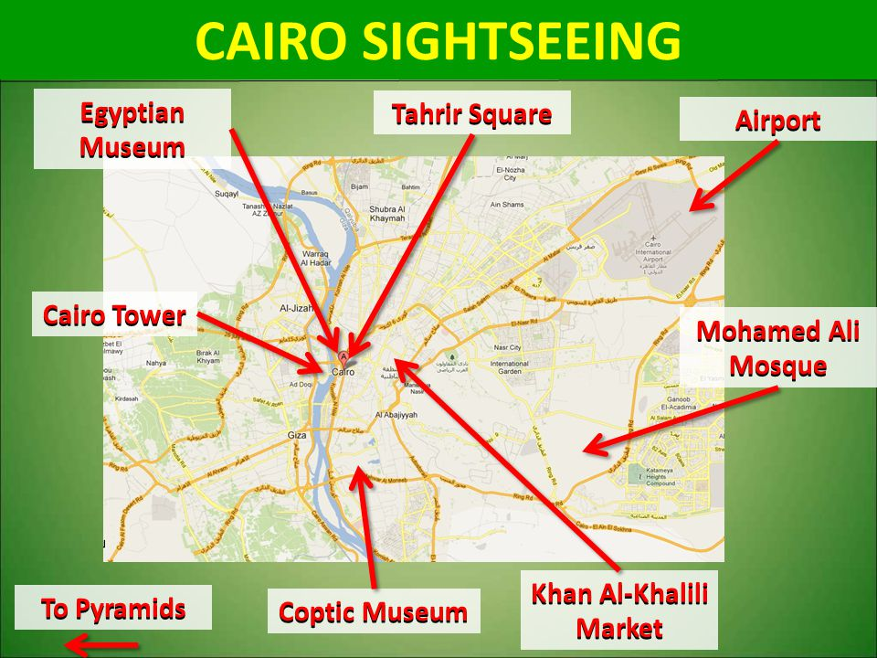 CAIRO SIGHTSEEING Egyptian Museum Tahrir Square Airport Cairo Tower