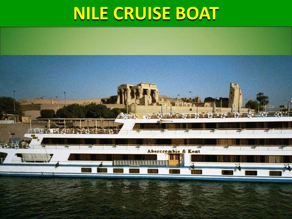 NILE CRUISE BOAT