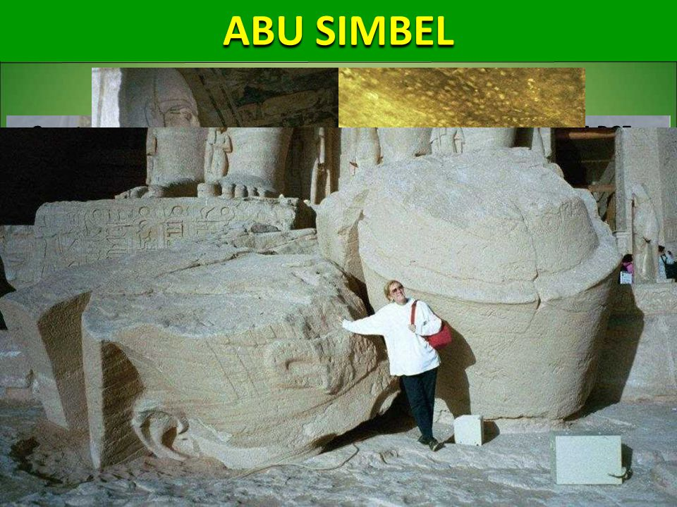ABU SIMBEL Construction of Abu Simbel complex started in approx. 1264 BCE and lasted for about 20 years, until 1244 BCE.