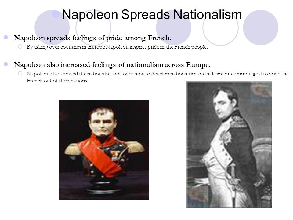 Napoleon Spreads Nationalism