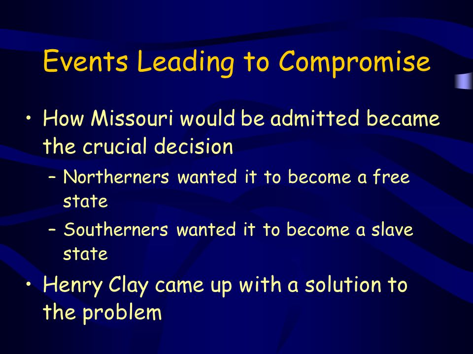 Events Leading to Compromise