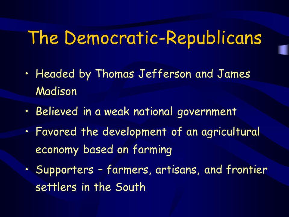 The Democratic-Republicans