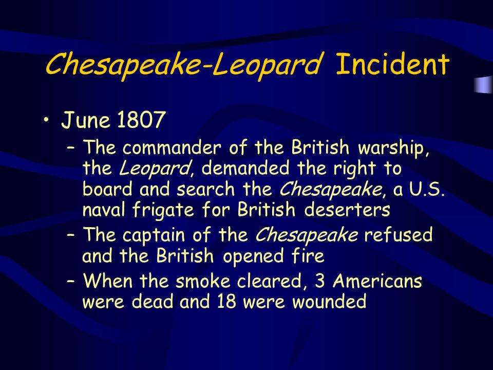 Chesapeake-Leopard Incident