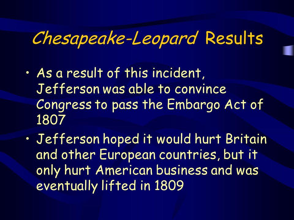 Chesapeake-Leopard Results
