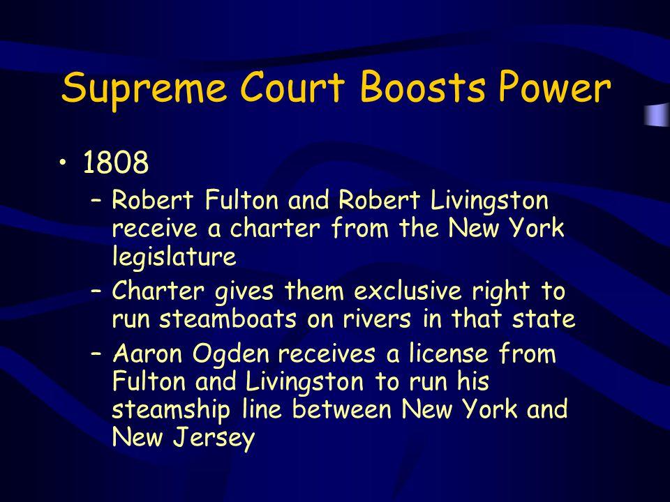 Supreme Court Boosts Power