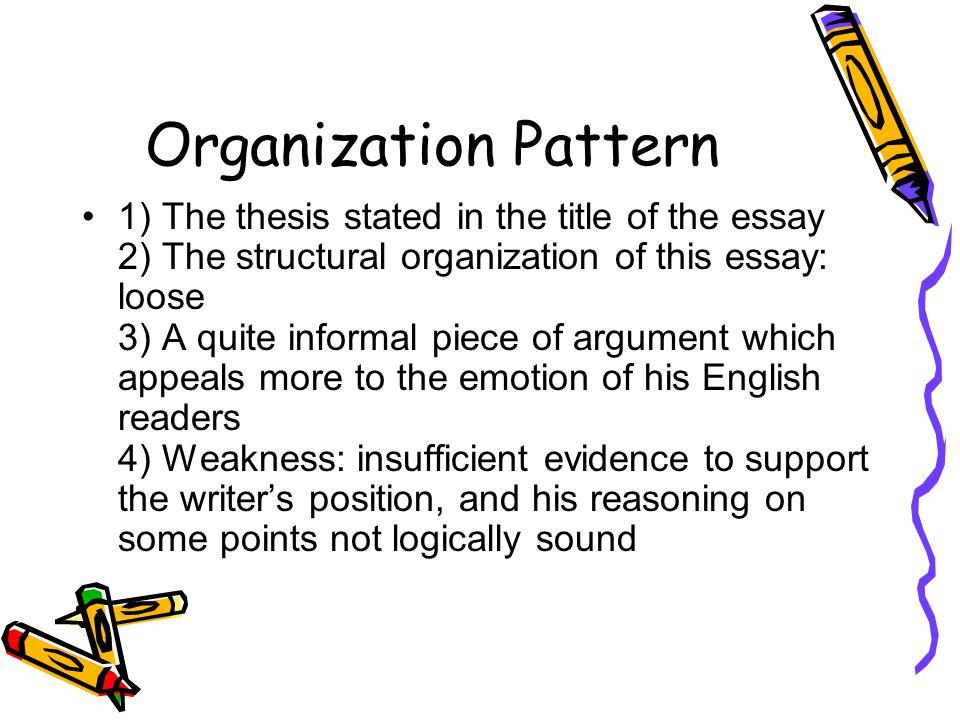 Organization Pattern