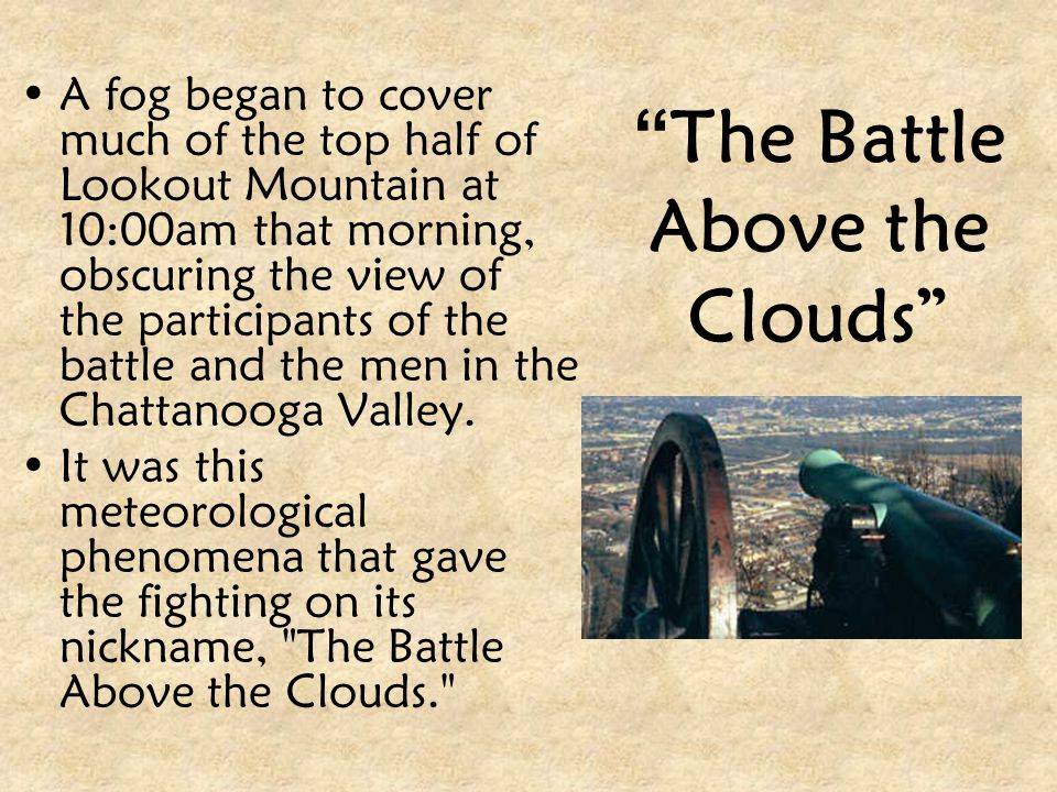 The Battle Above the Clouds