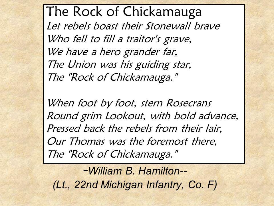 -William B. Hamilton-- (Lt., 22nd Michigan Infantry, Co. F)