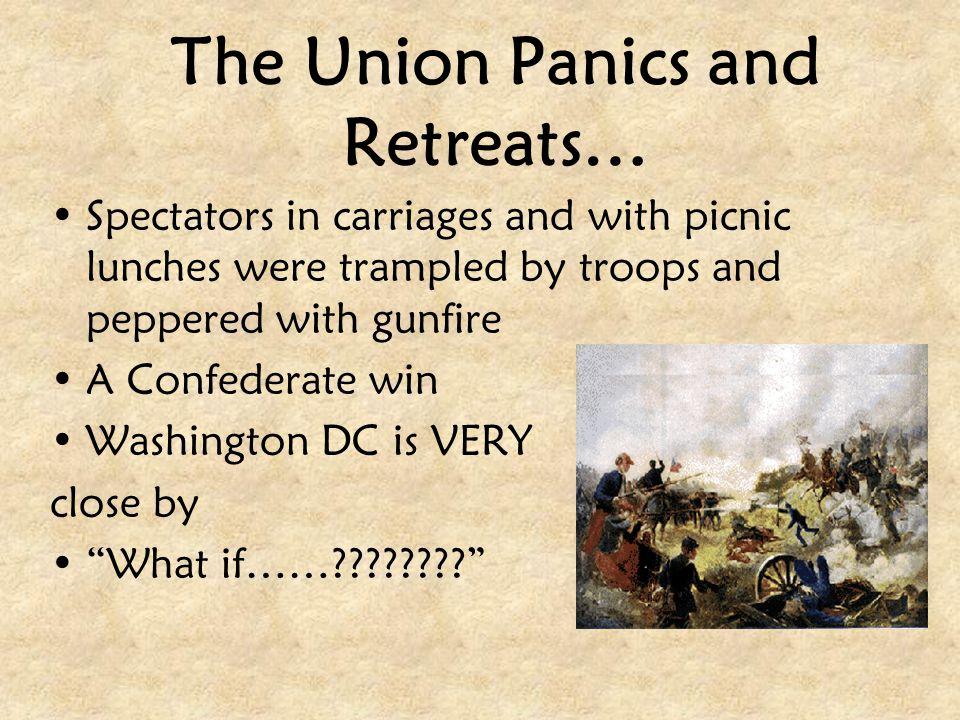 The Union Panics and Retreats…