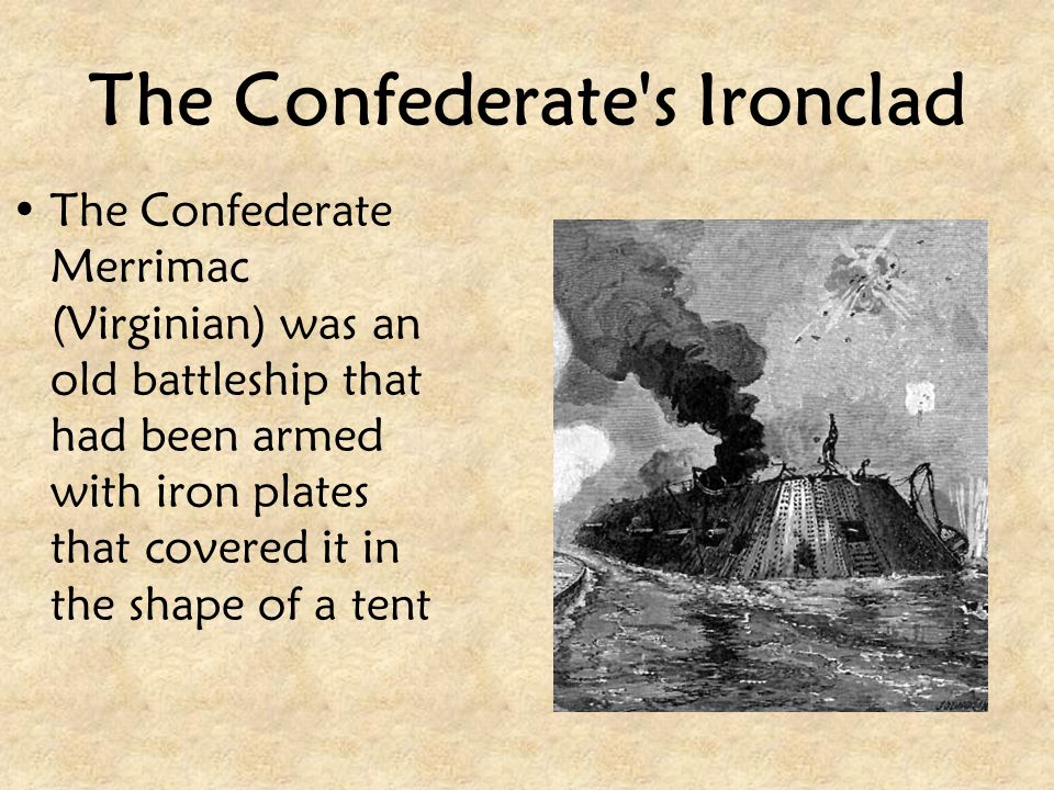The Confederate s Ironclad