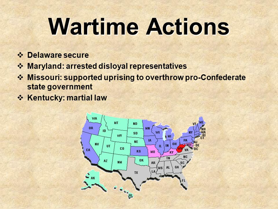 Wartime Actions Delaware secure