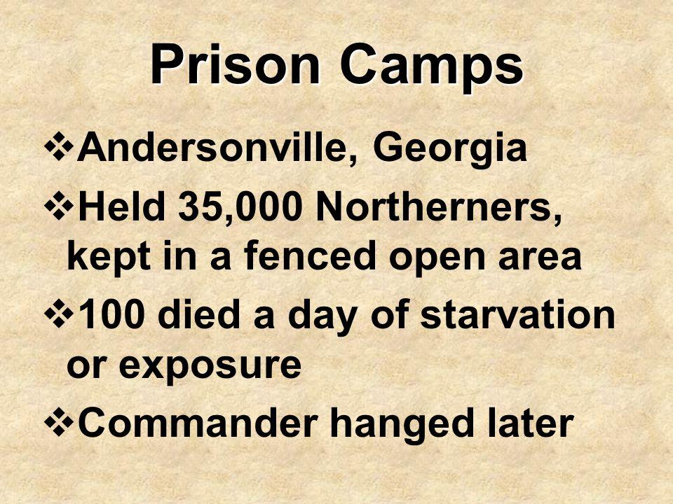 Prison Camps Andersonville, Georgia