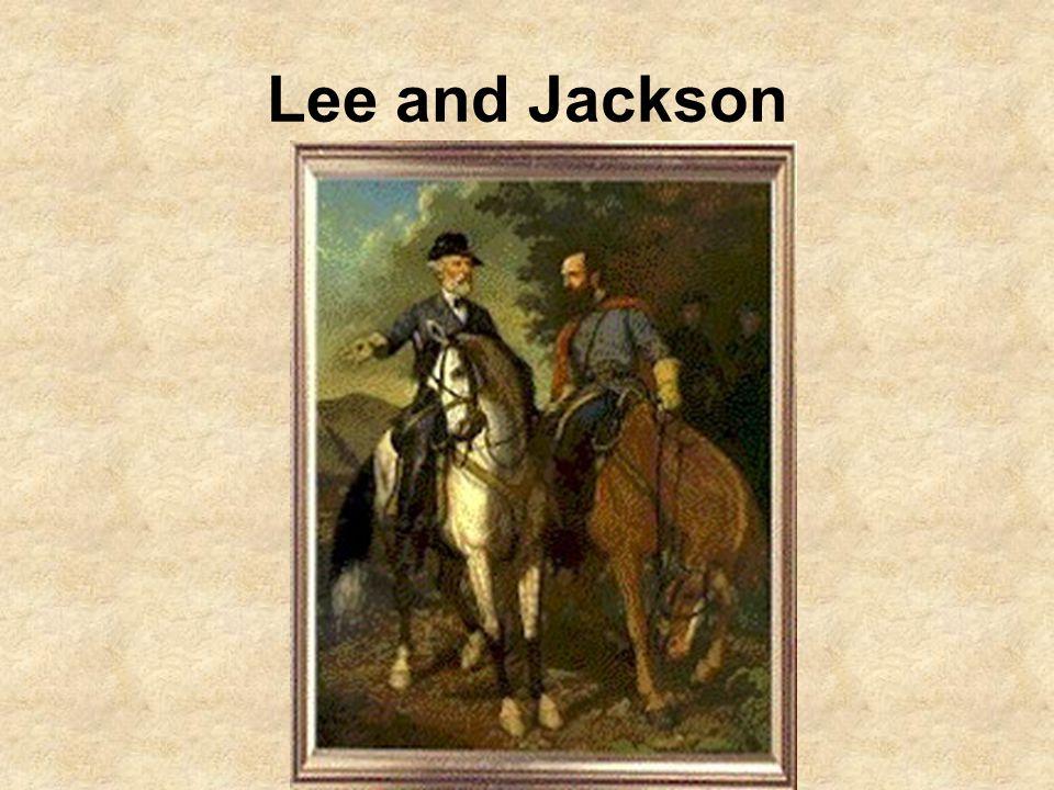 Lee and Jackson