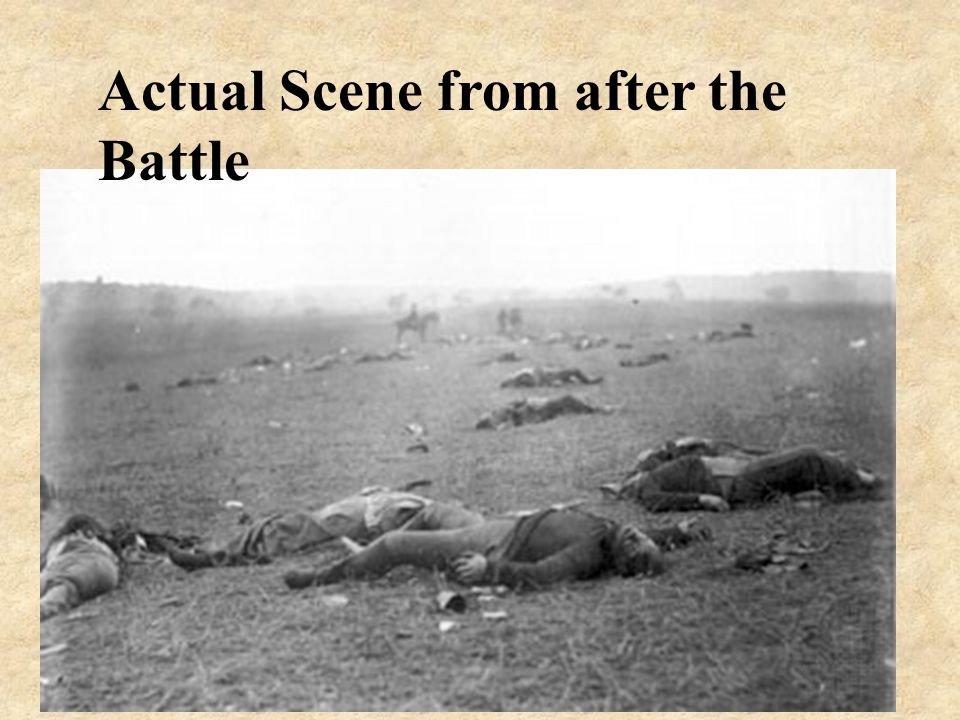 Actual Scene from after the Battle