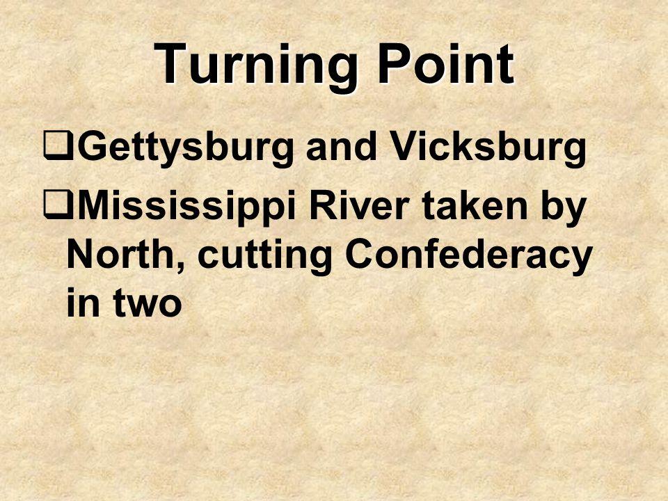 Turning Point Gettysburg and Vicksburg