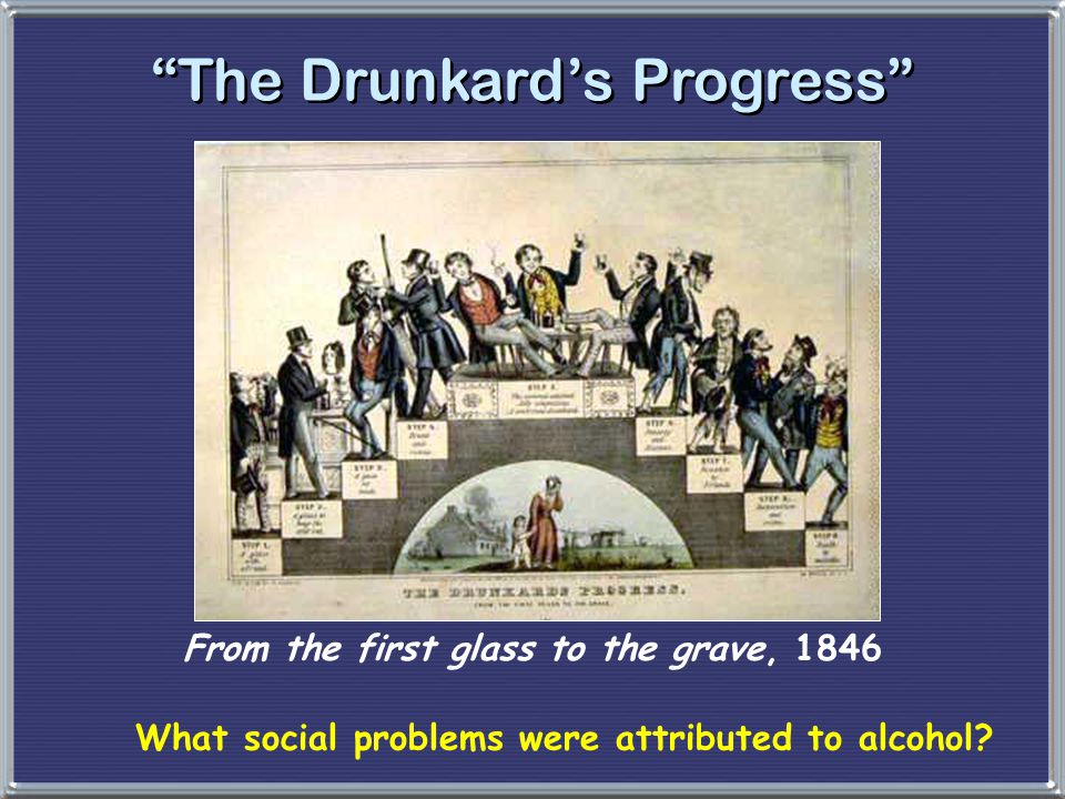 From the first glass to the grave, 1846