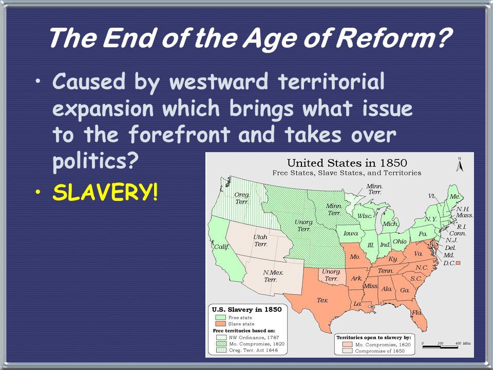 The End of the Age of Reform