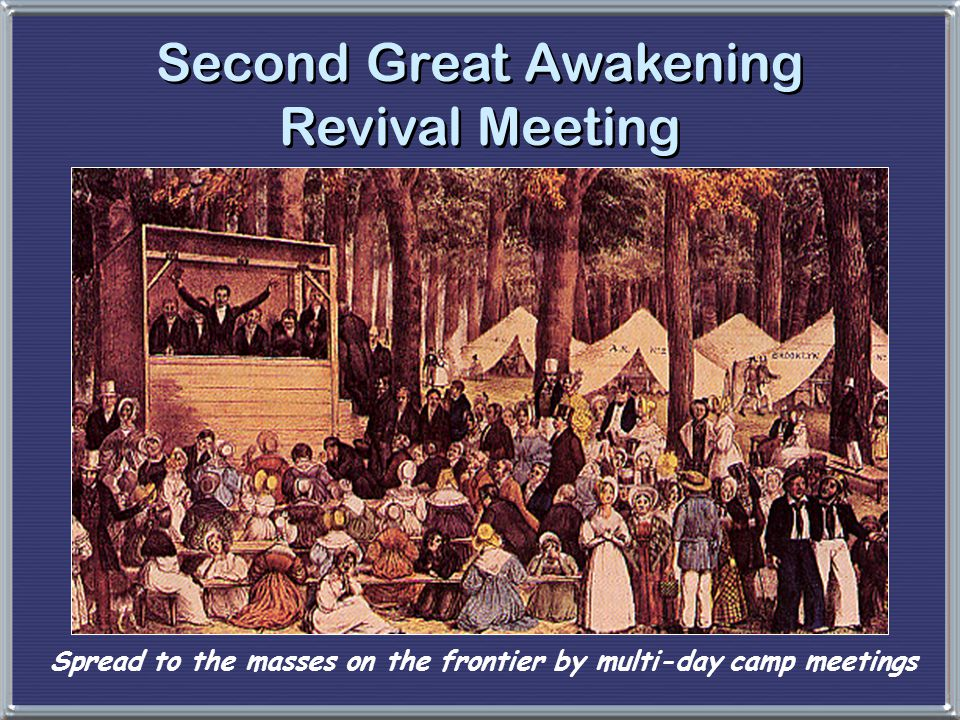 Second Great Awakening Revival Meeting