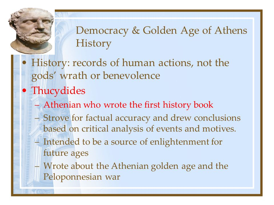 Democracy & Golden Age of Athens History