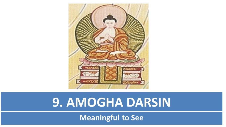9. AMOGHA DARSIN Meaningful to See