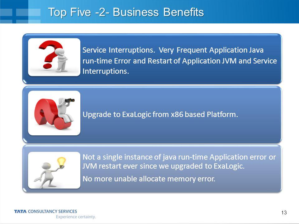 Top Five -2- Business Benefits