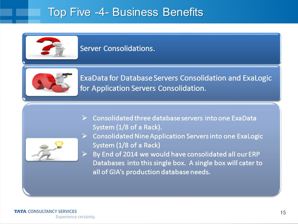 Top Five -4- Business Benefits