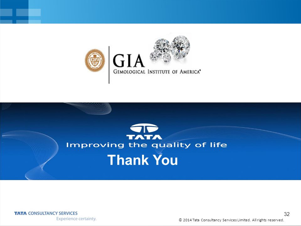 Thank You TCS Overview June, 2011