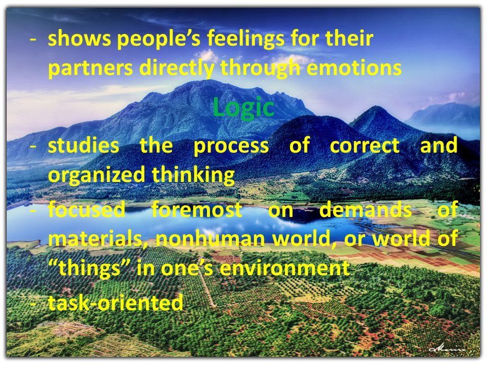 shows people's feelings for their partners directly through emotions
