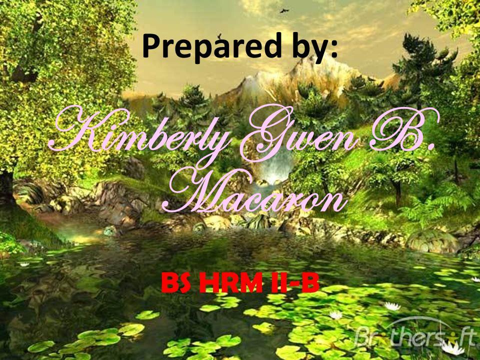 Kimberly Gwen B. Macaron