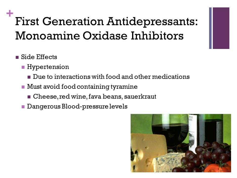 First Generation Antidepressants: Monoamine Oxidase Inhibitors
