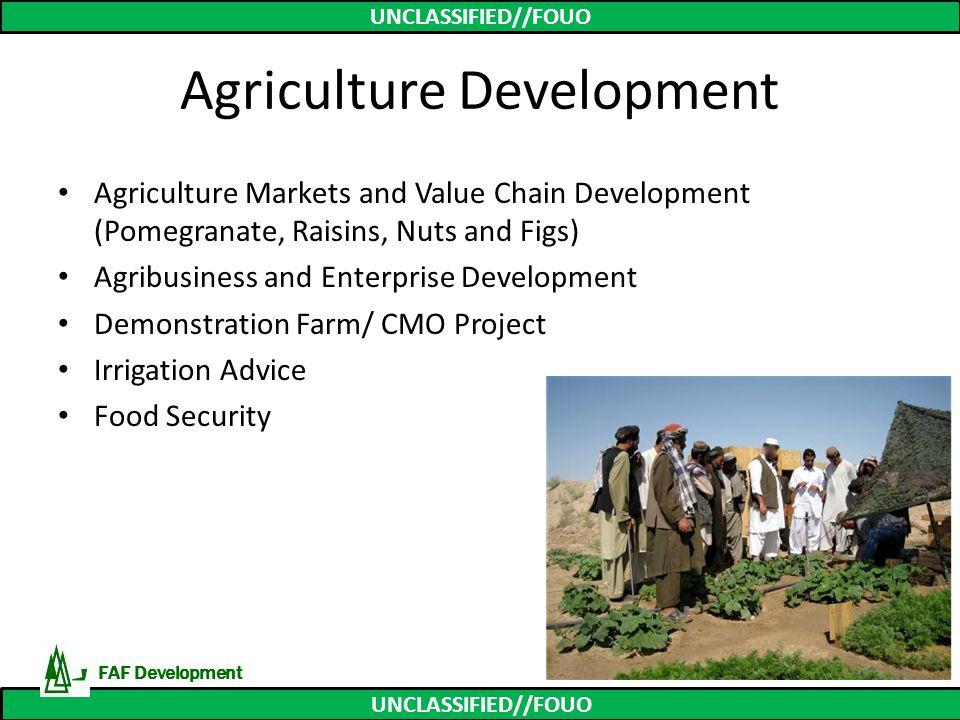 Agriculture Development