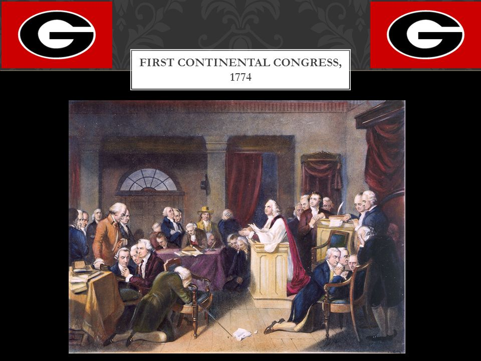First Continental Congress, 1774