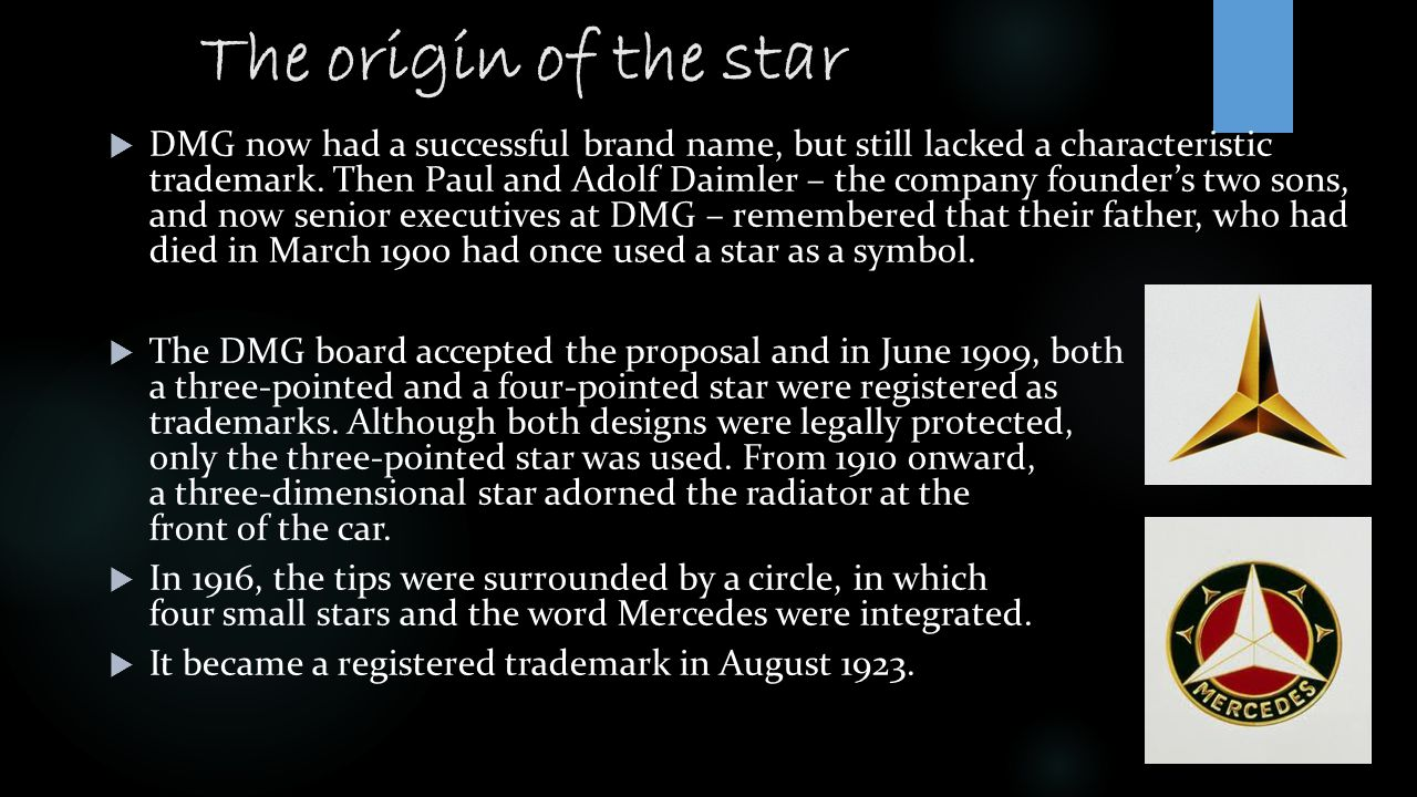 The origin of the star