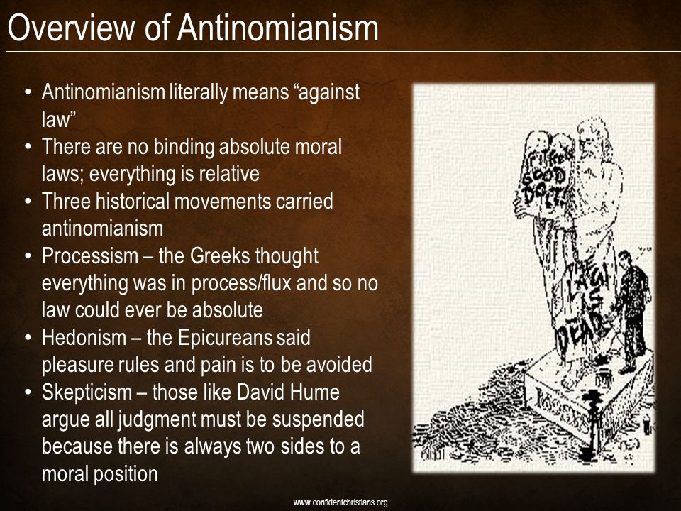 Overview of Antinomianism