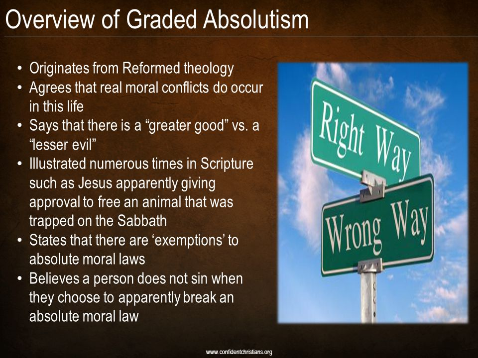 Overview of Graded Absolutism
