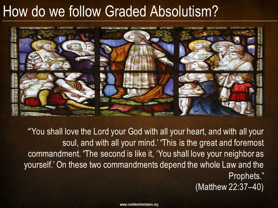 How do we follow Graded Absolutism