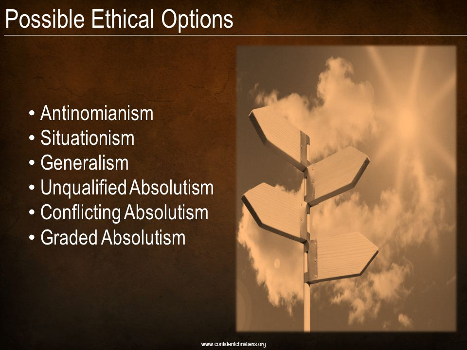 Possible Ethical Options