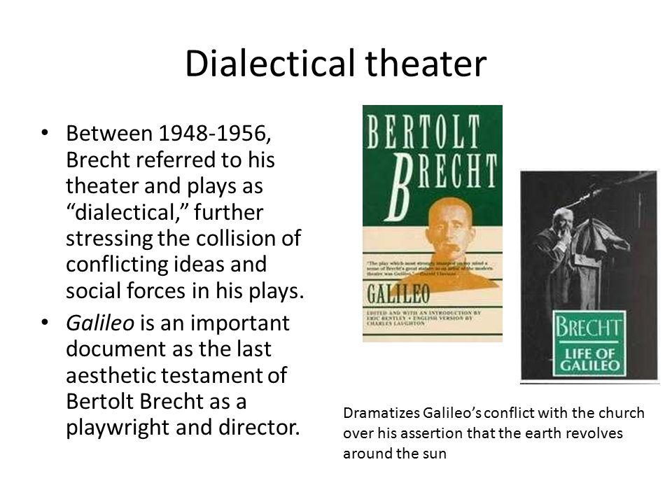 Dialectical theater